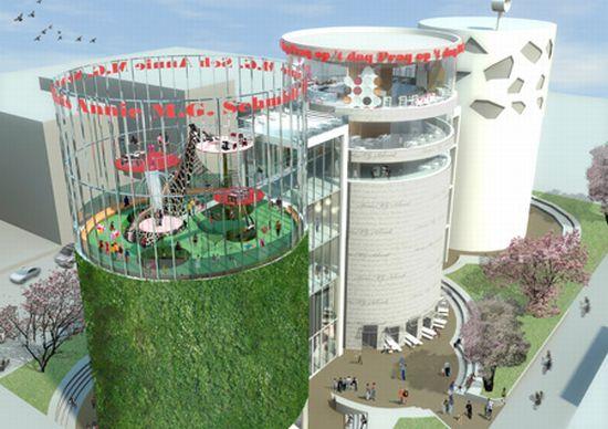 110 silos amgh aerial