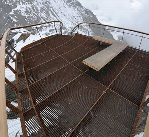 Mountain-top viewing platform brings nature closer | Designbuzz ...
