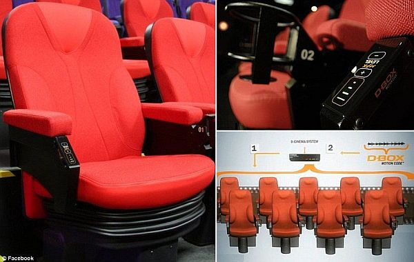 4 d cinema seats