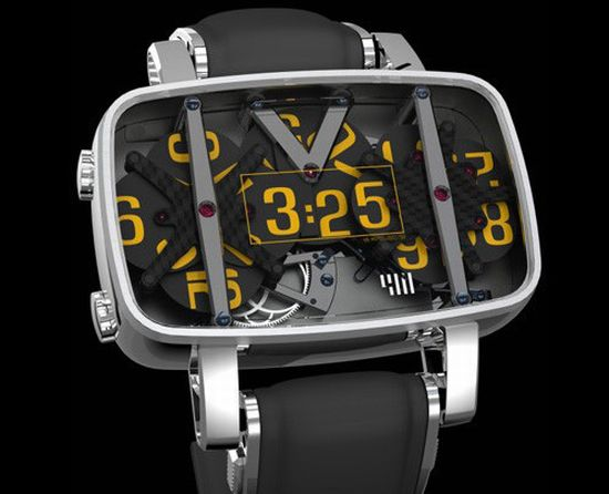 4n analog watch