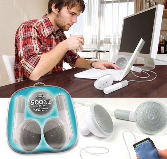 500xl desktop earbud speakers ZdPss 58
