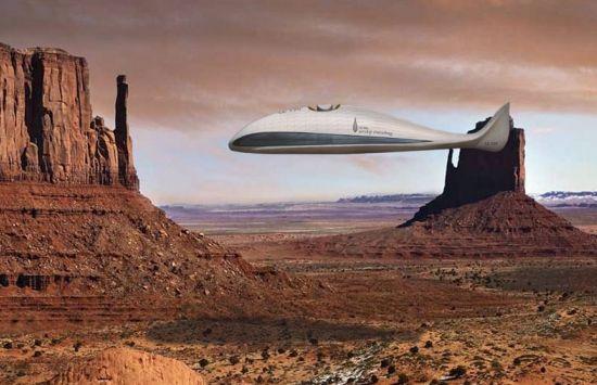 airship traveling 1