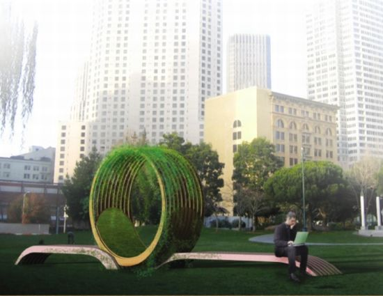 Alcove Public Seating An Intersection Between Nature And