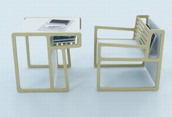 Multifunctional Furniture: Also Chair Transforms Into A Table   Designbuzz