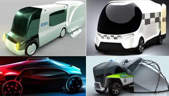 futuristic ambulance designs