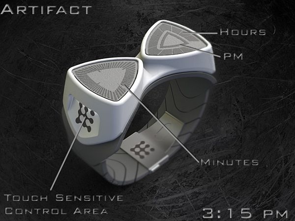 Artifact LED watch
