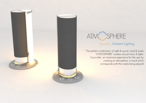 atmosphere speaker and ambient lighting
