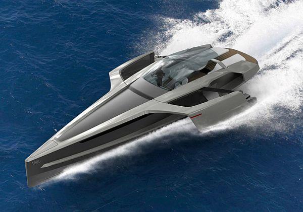 audi trimaran yacht