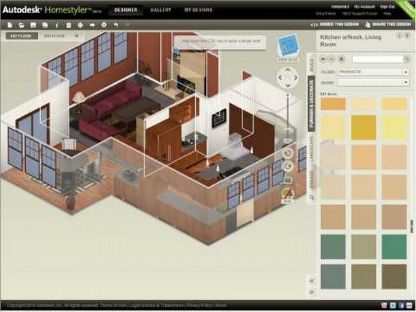 10 best interior design software or tools on the web ux Design your house app