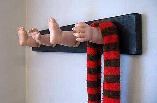 baby doll coat rack