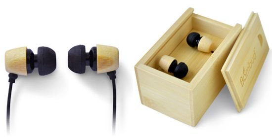 bamboo earbuds