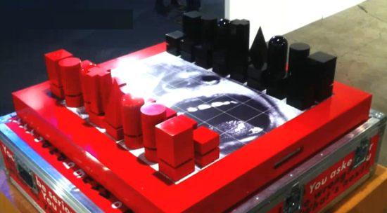 barbara kruger chess set 1