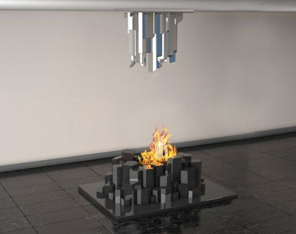Basalto Fireplace