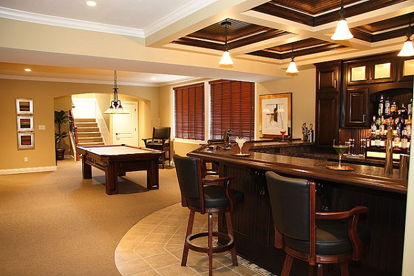 innovative basement design ideas to utilize your deserted