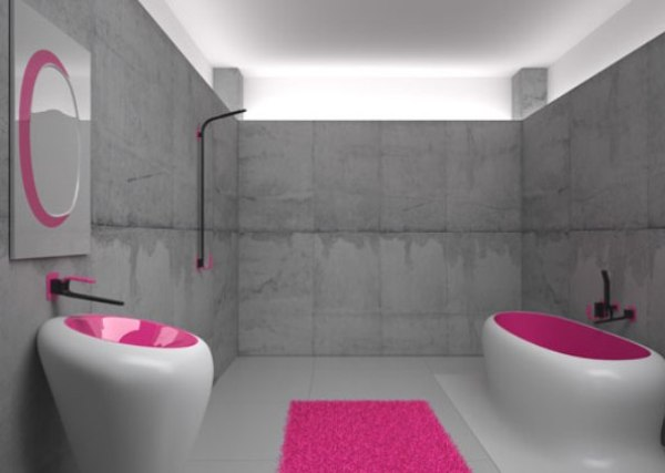 Bathroom Design by Karim Rashid