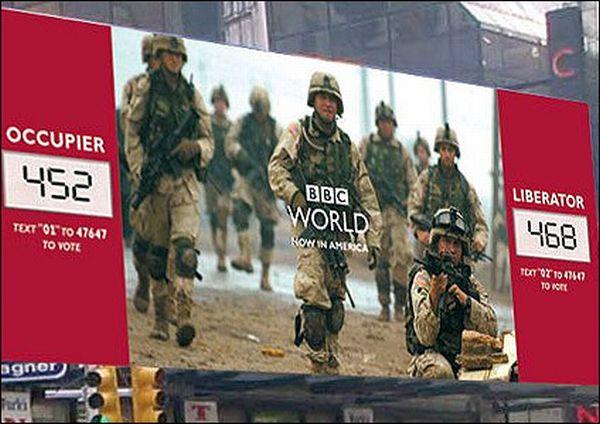 BBC World's Interactive Billboard