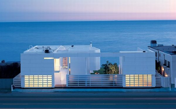 Beachfront house in South California