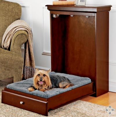 Cool wood bed frames - Murphy Have Brought This Bed Exclusive For You Lovely Pet To Take A