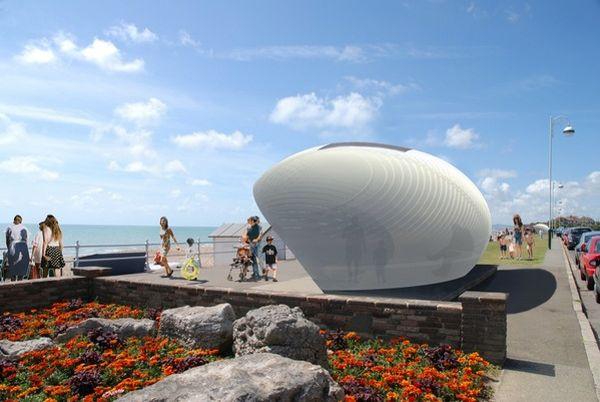 Bexhill Beach Shelter & Kiosk