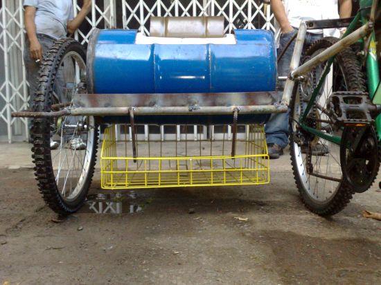 bicycle powered washing machine 01