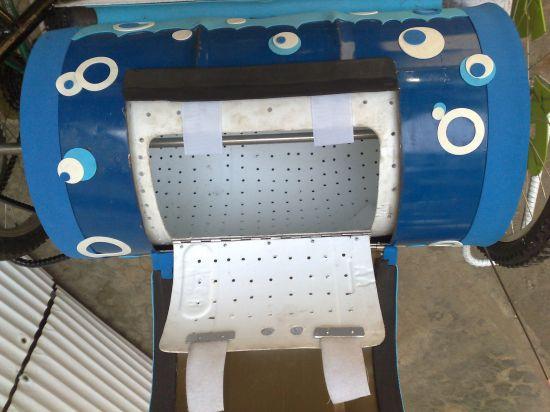 bicycle powered washing machine 04