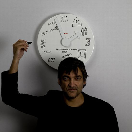 blank wall clock  03