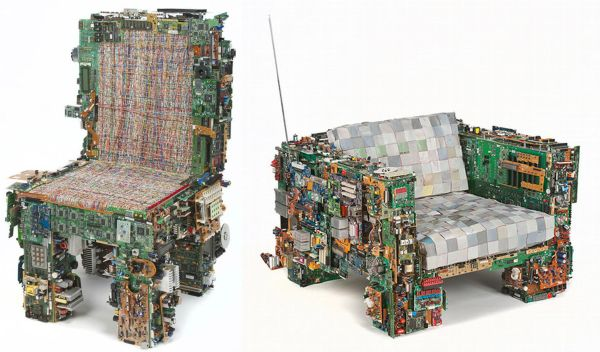 recycled furniture design. five fabulous furniture designs recycled from ababdoned circuit boards designbuzz design n
