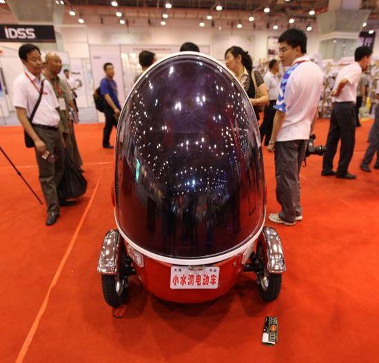 bubble bike electric three wheeler 10
