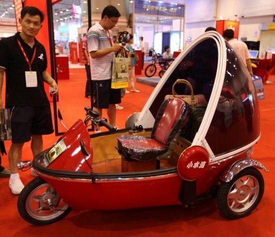 bubble bike electric three wheeler 2