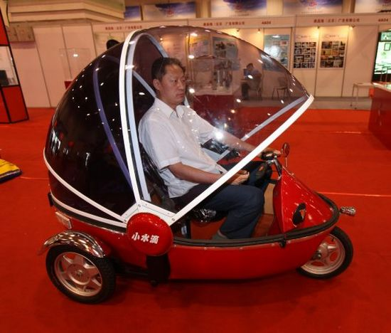 bubble bike electric three wheeler 4