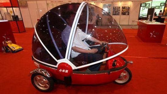bubble bike electric three wheeler 5