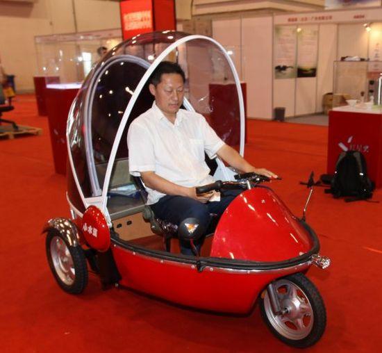 bubble bike electric three wheeler 7