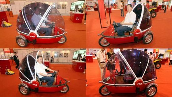 bubble bike electric three wheeler1