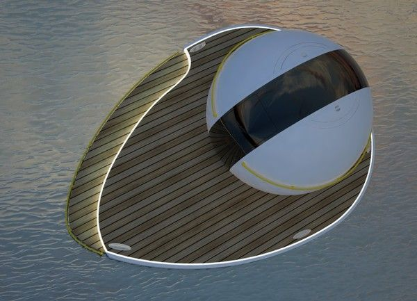 bubble modern island