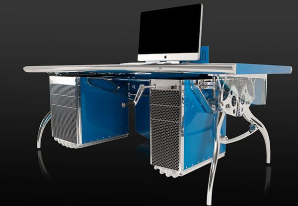 bugatti grand prix car inspired desk