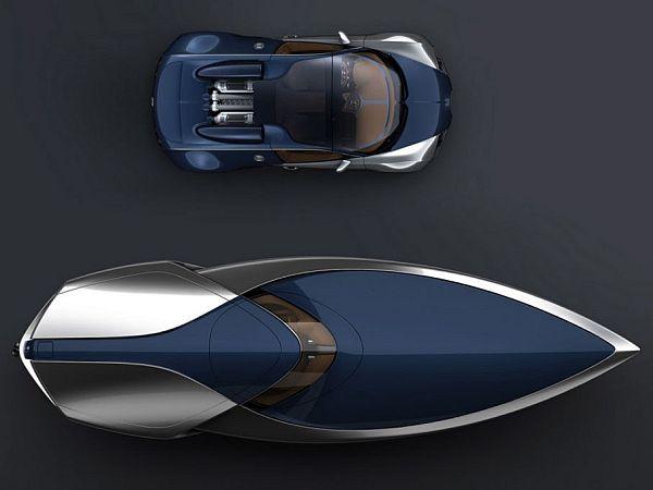 bugatti veyron sang bleu speedboat 01