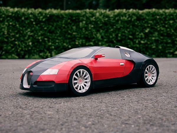 Bugatti Veyron Paper Edition
