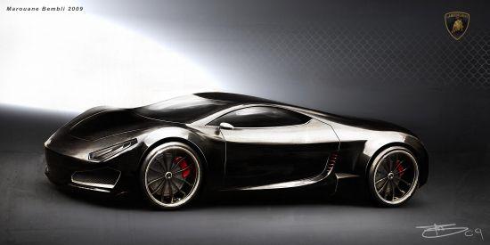 Designer creates lamborghini cachazo concept as the for Garage concept auto
