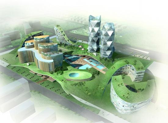caohejing hi tech park1