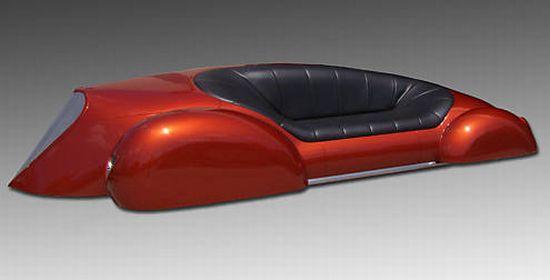car couch sculpture 2