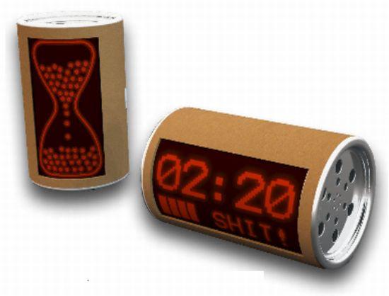 cardboard clock 01