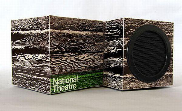 cardboard speaker set 02