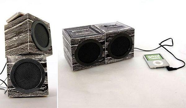 cardboard speaker set 03