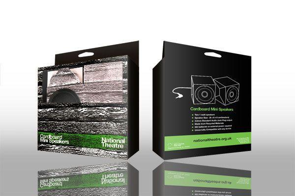 cardboard speaker set