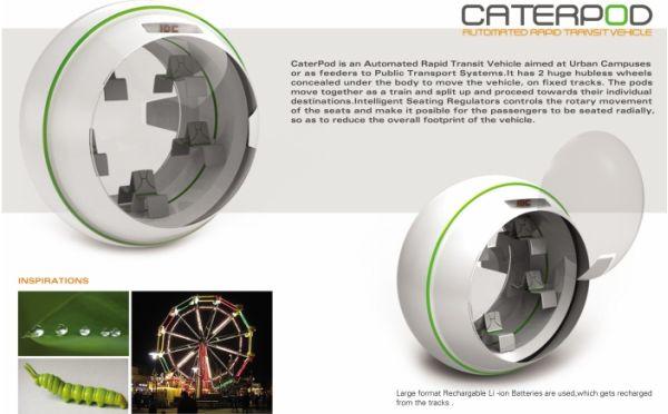 CaterPod concept