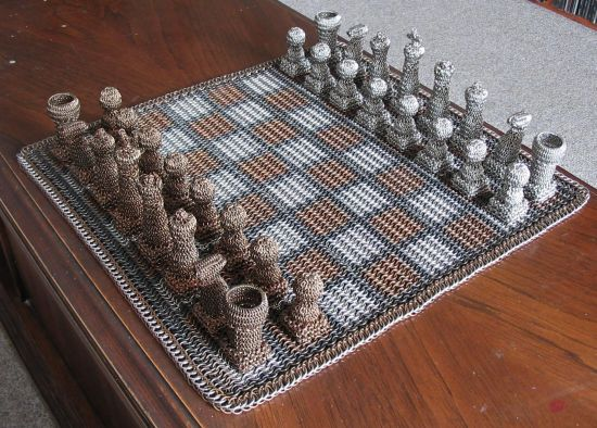 chainmail chess set  01