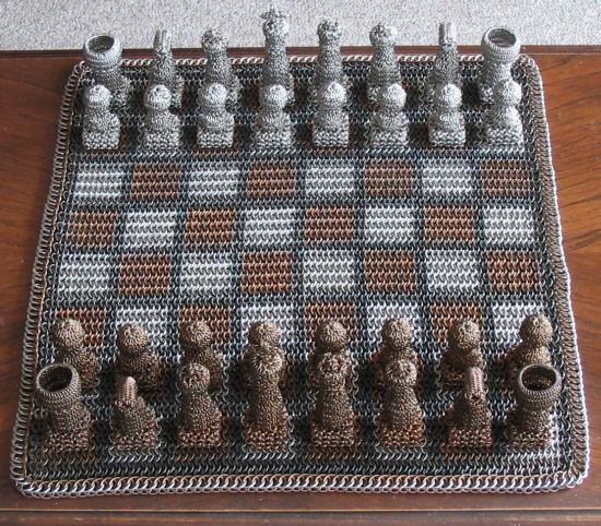 chainmail chess set  02