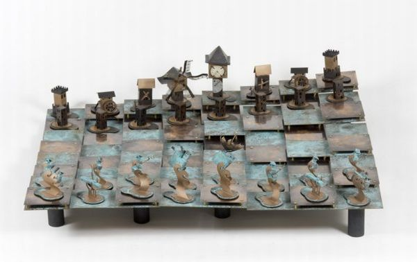 Chess set by Mellington Cartwright