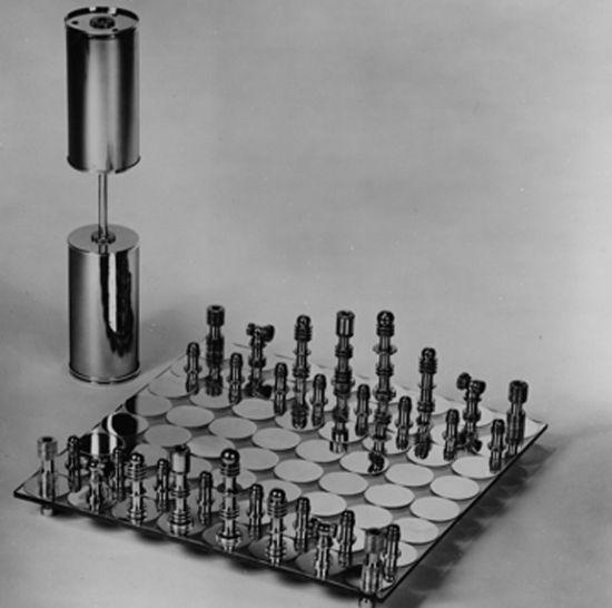 chessset lamp
