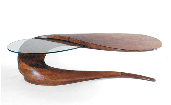 chic serpent coffee table